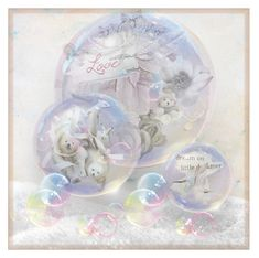 """winter snow globes"" by art-gives-me-life ❤ liked on Polyvore featuring art and contestentry"