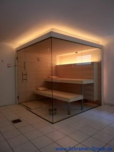 Great Absolutely Free Luxury Bathroom jacuzzi Thoughts Making sure your bathroom lifestyles about the luxury beauty associated with your home is difficult, Saunas, Indoor Sauna, Sauna Design, Steam Sauna, Sauna Room, Spa Rooms, Home Room Design, Massage Room, Transitional Bathroom