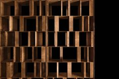 Structure External columns in cm thick solidwood covered in Burnished Brass by hand using traditional techniques. Base and wall support in black burnished steel using traditional techniques. Office Interior Design, Interior Exterior, Caves, Room Deviders, Cnc Cutting Design, Room Partition Designs, Joinery Details, Cabinet Shelving, Deco Furniture
