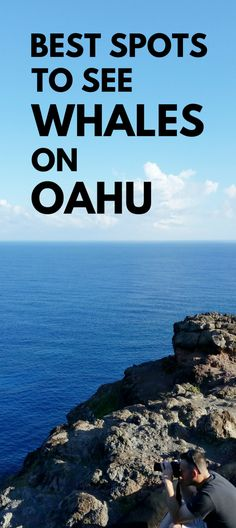 Best spots for whale watching in Oahu. Activities alternative to whale watching tours in Oahu. Lots of hikes on Oahu, do this one if Hawaii vacation is during best time for whale season! Things to do nearby beaches, snorkeling! Make a trip to this spot from Waikiki, Honolulu as an outdoor travel destination for bucket list budget adventures! It's free! Put binoculars on the checklist of what to pack for Hawaii packing list! Photography spots. Maui activities best to see whales. #hawaii #oahu