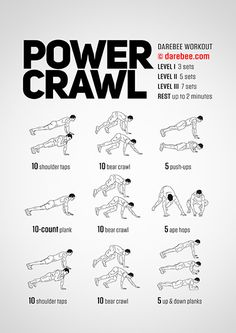 Power Crawl Workout | Posted By: AdvancedWeightLossTips.com