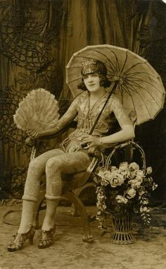 Trixie Richardson, tattooed by Chas. Wagner. collection of The Barnum.