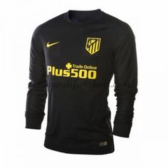 Neues Atletico Madrid 2016-17 Fussball Trikot Langarm Auswärtstrikot Shop f3456fd52cbb5