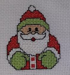 Santa mini X-stitch Cross Stitch Christmas Cards, Santa Cross Stitch, Mini Cross Stitch, Cross Stitch Cards, Simple Cross Stitch, Cross Stitching, Cross Stitch Embroidery, Christmas Cross, Cross Stitch Designs