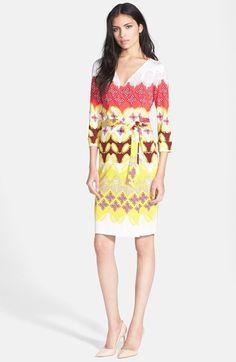 f07859fb25244 Diane von Furstenberg  New Julian Two  Silk Jersey Wrap Dress Chic Outfits,  Fashion
