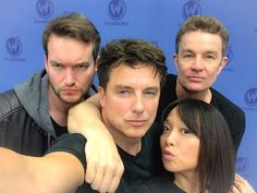 Naoko Mori, Old Sci Fi Movies, Gareth David Lloyd, Captain Jack Harkness, David Tennant Doctor Who, Twelfth Doctor, John Barrowman, Doctor Who Quotes, Donna Noble