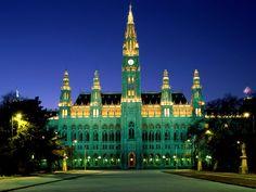 Rathaus, Wien! Ich habe einen Film da gesehen!