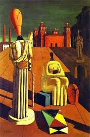 Giorgio de Chirico - Las musas inquietantes, 1924