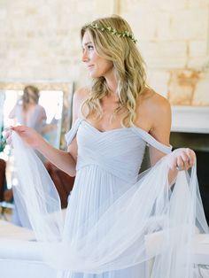 Gorgeous draped bridesmaid look: http://www.stylemepretty.com/vault/gallery/38301 | Photography: Luna De Mare - http://lunademarephotography.com/