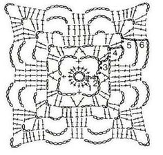 crochet paso a paso cuadrados - Saferbrowser Yahoo Image Search Results