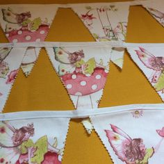 Magic Fairy Bunting by SewphiesChoice on Etsy