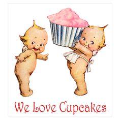 Kewpies and cupcakes