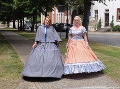 """... alcuni partecipanti alla """"Festa delle Ciliegie"""" (""""Kirschfest"""" a ricordo della cacciata degli Hussiti dalla città) in costumi del 1526 - Naumburg-Saale (D) - 28 giu 2014 - © Umberto Garbagnati -"""