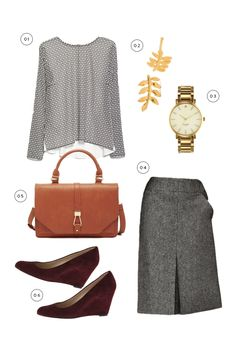 Interviews, Education & Academia Academia has a level of professionalism similar to a corporate environment, since you're working with faculty or students. Whether you're an assistant professor or a kindergarten teacher (note these two audiences are different!), you want to feel confident, comfortable, and relatable. A great blouse and knit pencil skirt in a deep rich color like burgundy or brown is lovely. A boucle jacket and trousers with classy pumps also looks fantastic.