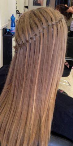 Graduation hair!