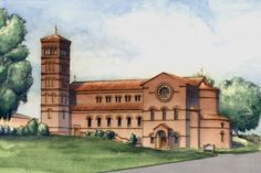 """Fr. Longenecker, """"A beautiful Catholic church says, """"Here we have built a temple that is beautiful and transcendent and full of God's presence and grace. Here the Son of God dwells in his sacramental presence, so this great Church reminds us of the Blessed Virgin, and if a reminder of her, then a reminder that her destiny is the destiny of each one of us. We too are called to be temples of the Holy Spirit. We too are called to be transformed by hard work, sacrifice and God's grace to become everlastingly beautiful. We too are called to an eternal destiny."""""""