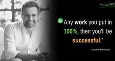 Sandeep Maheshwari is a Successful Entrepreneur and talented motivational speaker in India. Read Here: Sandeep Maheshwari Quotes and Thoughts Words. Inspirational Quotes About Success, Motivational Thoughts, Best Motivational Quotes, Success Quotes, Hindi Quotes, Quotations, Sandeep Maheshwari Quotes, Genius Quotes, Love Life Quotes
