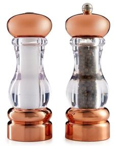 Martha Stewart Collection Copper-Plated Salt & Pepper Grinders, Only at Macy's