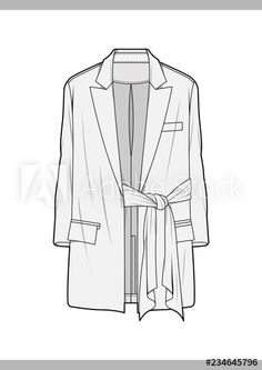 OUTER Fashion technical drawings flat Sketches vector template - Buy this stock vector and explore similar vectors at Adobe Stock - OUTER Fashion technical drawings flat Sketches vector template - Flat Drawings, Flat Sketches, Technical Drawings, Fashion Design Portfolio, Fashion Design Drawings, Fashion Sketches, Drawing Fashion, Dress Drawing, Drawing Clothes