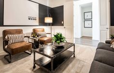 New Homes in Carmel Creek - Home Builder in Hutto TX Media Rooms, Kitchen Family Rooms, Back Patio, Model Homes, Home Builders, Home Buying, Dining Area, Living Room Decor, Master Bedroom