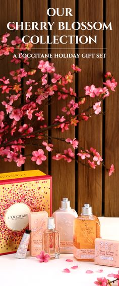 With the gift of our Cherry Blossom Collection, her skin will feel delicate and sweet, with a scent to match. This unique and fragrant gift comes with shea-enriched products for moisturization, blended with the light floral scent of cherry blossom. This fragrance is perfect for a special friend, mom, sister, or daughter who is stylish and bright all year-round.