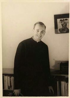Pope Francis..handsome young man, he resembles Sean Murray/ Timothy McGee on NCIS