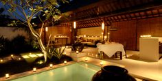 romantic backyard