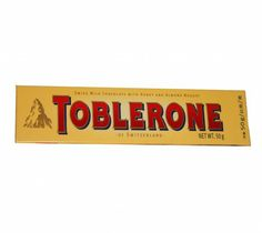 Toblerone Chocolate 50g at Rs.80 online in India.