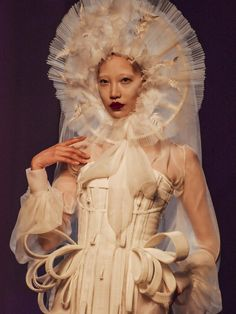 Soo Joo Park closes Jean Paul Gaultier Haute Couture FW16.