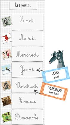 French Flashcards, Wolf, Petite Section, First Day Of School, Grade 1, Montessori, Activities For Kids, Preschool, Language