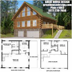 Log House Plan # 1063 Toll Free: (877) 238-7056