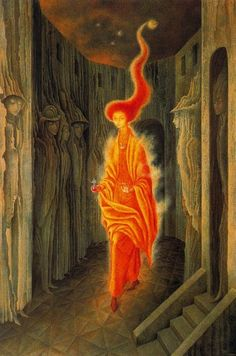 The Call by Remedios Varo