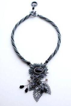 Bead artwork by Fumiko Sekine