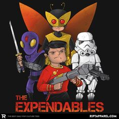 The Expendables Exclusive – RIPT Apparel