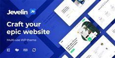 Jevelin | Multi-Purpose Responsive WordPress AMP Theme Photography Themes, Photography Portfolio, Cosmetic Shop, Makeup Services, Themes Free, Creative Portfolio, Creating A Business, Premium Wordpress Themes, Purpose