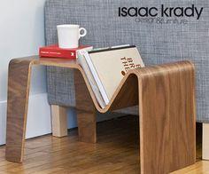Nice end table. Isaac Krady.