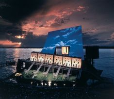 Beethoven's Fidelio directed by David Pountney; Photograph by KARL FORSTER