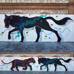 Sabek & Spokbrillor for Festeen cultura in Matadero Madrid, Spain, 2016