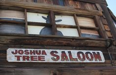 Loving this post about the Joshua Tree Saloon, written by my friend Ted Quinn.