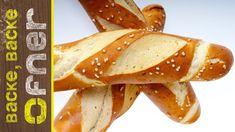 Bio Laugengebäck | Backe backe Ofner French Toast, Healthy Recipes, Breakfast, Pane Pizza, Food, Youtube, Pasta, Cooking, Pretzel Bun