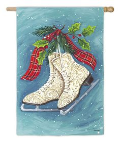 Look at this Ice Skates Flag on #zulily today!