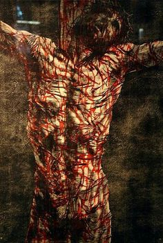 This picture is brutal, but just think how bad and brutally beaten our Lord was.