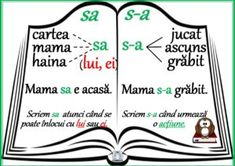 Ortograme - s-a Preschool Learning, Preschool Activities, Teaching, Spring Crafts For Kids, Summer Activities For Kids, Romanian Language, School Games, Alphabet Activities, School Lessons