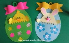 Easter Chick Crafts for Kids - Preschool and KindergartenPreschool Crafts Easter Arts And Crafts, Easter Projects, Easter Crafts For Kids, Easter Gift, Spring Crafts, Holiday Crafts, Easter Card, Easter Activities, Preschool Crafts