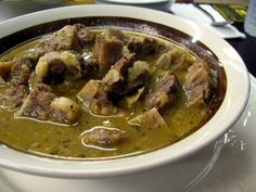 Nigerian Pepper Soup | Oxtail pepper soup was a personal favorite at Peppersoup Cafe before ...