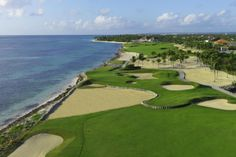 Designed by Tom Fazio, Corales is a dramatic 18-hole course with 6 Caribbean Oceanside holes. Designed along the natural cliffs, bays and coves of the sea, inland lakes and coralina quarries the Corales Course rates among the World's finest golf experiences. #Golf #PuntaCana #Travel, Jay Overton (Director of Corales Golf Club) & staff invites and challenges you to experience Corales! For more information, visit www.golfpuntacana.com or write to sales@golfpuntacana.com.