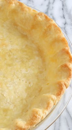 Best Ever Flaky Buttermilk Pie Crust Pastry ~ Extra-flaky, tender and foolproof, with natural butter flavor, our recipe and tips for an all-shortening (or part butter and part shortening) pie crust inspired by a Master Pie Baker and Chef will have you successfully making your own homemade buttermilk pie crust that will win rave reviews! | #diy #homemade #pie #pastry #recipe