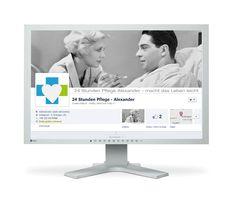 Fanpage niemieckiej agencji zajmującej się rekrutacją pielęgniarek.