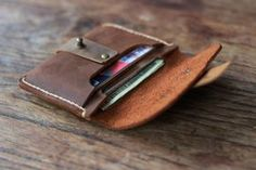 Treasure Chest Credit Card Wallet Leather Wallets by JooJoobs, $39.00