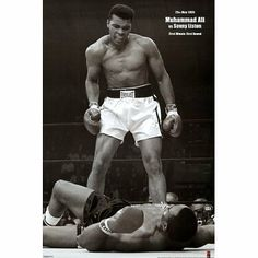 (24x36) Muhammad Ali (Vs. Sonny Liston, First Round, First Minute) Sports Poster Print by Poster Revolution. Save 87 Off!. $2.00. ships quickly and safely in a sturdy protective tube. measures 24.00 by 36.00 inches (60.96 by 91.44 cms). decorate your walls with this brand new poster. easy to frame and makes a great gift too. (24x36) Muhammad Ali (Vs. Sonny Liston, First Round, First Minute) Sports Poster Print